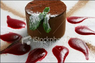 Chocolate Mint Tort